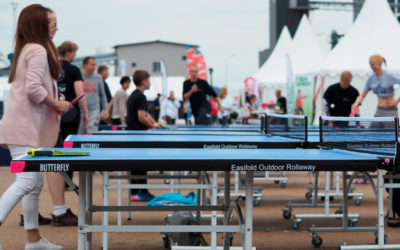 PING PONG POWER på Tall Ships Races i Halmstad
